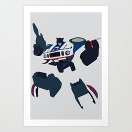 Transformers G1 - Autobot Jazz Art Print