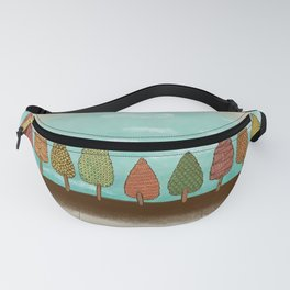 Colorful grove Fanny Pack