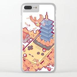 Pocket Monster V2 - Ho-Oh Clear iPhone Case