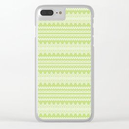Indian Designs 222 Clear iPhone Case