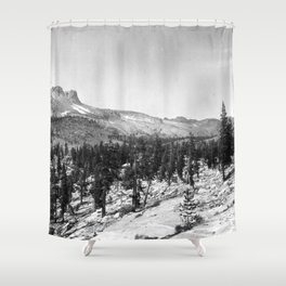 Mount Hoffmann, Yosemite National Park 1907 Shower Curtain