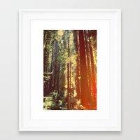 giants Framed Art Prints featuring Giants by shellebaehner