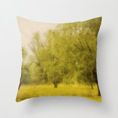 Willowing Throw Pillow