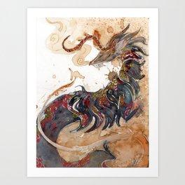 Dragon Kunstdrucke