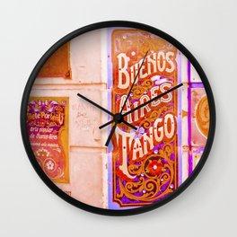 Tango Buenos Aires, Argentina. Wall Clock