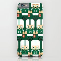 American Football Green and White Slim Case iPhone 6s