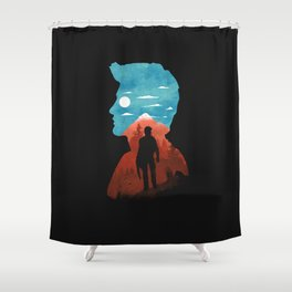 Nathan Drake Shower Curtain