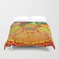 meditation Duvet Covers featuring Meditation by Vedran Misic