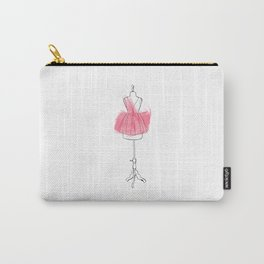 Pink dress Carry-All Pouch