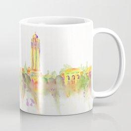 Colorful Stanford California Skyline - University Coffee Mug
