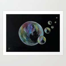 CRAYON LOVE  - Soap Bulbs Art Print