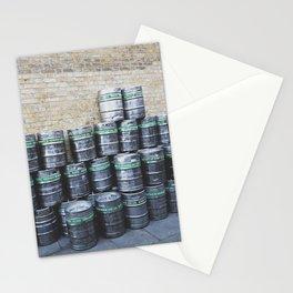 Beer Barrels Stationery Cards