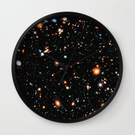 Hubble Extreme-Deep Field Wall Clock