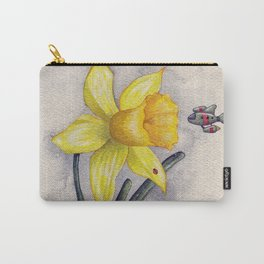 Future Botanical Studies - Daffodil Carry-All Pouch