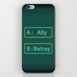 Ally Betray / Zero Escape - Virtues Last Reward iPhone Skin