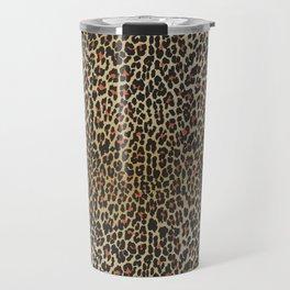 Leopard Skin Print Travel Mug