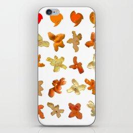 Orange Peel Party iPhone Skin