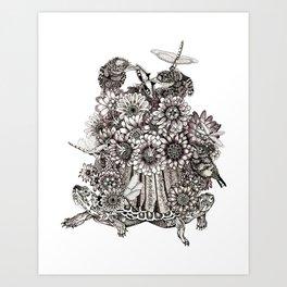 Gamera : The Guardian of the Fauna Art Print