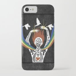 Cultivating Inner Beauty iPhone Case