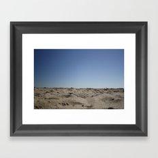 Endless Beach Framed Art Print