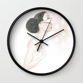 Dancing In The Rain - soft version Wall Clock