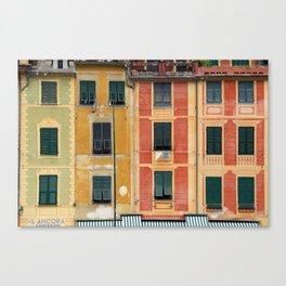 All About Italy. Piece 3 - Portofino Colors Canvas Print
