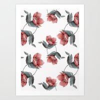 Summer Flowers V Art Print