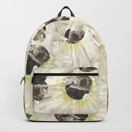 Citrine White Floral Backpack