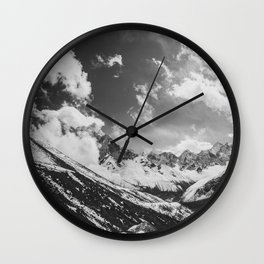 Everest base camp Wall Clock