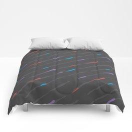 Charcoal Amaretta Rain Comforters