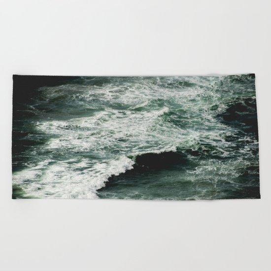 Glory Waves Beach Towel