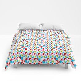 symetric patterns 10 -mandala,geometric,rosace,harmony,star,symmetry Comforters