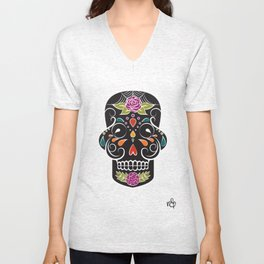Two Sides of Lonely (1) Unisex V-Neck