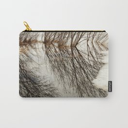 Willow tree reflection Carry-All Pouch