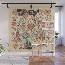 Do what makes you happy -Vintage Wall Mural