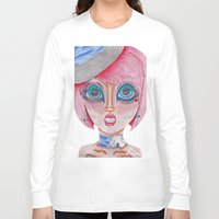 poker Long Sleeve T-shirts featuring poker face by Scenccentric Creations