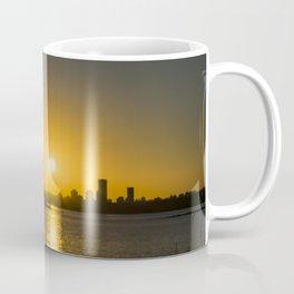 Sunset Cityscape Scene, Montevideo, Uruguay Coffee Mug