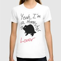 hamster T-shirts featuring Hamster lover  by Taylor J Wyatt
