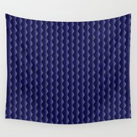 scales Wall Tapestries featuring Scales by Cherie DeBevoise