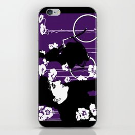 Victor Bicyles Goth Style iPhone Skin