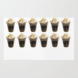 Caramel Macchiato Starbucks Rug