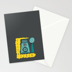 Vintage Camera | Grey Stationery Cards