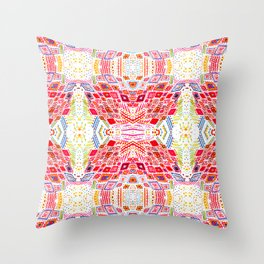 Cryosynthia Throw Pillow