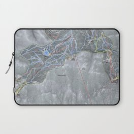Heavenly Resort Trail Map Laptop Sleeve
