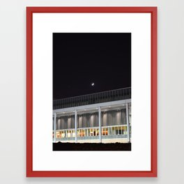 Mini Moon Framed Art Print