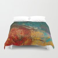 calendars Duvet Covers featuring Othala - Runes Series by Fernando Vieira