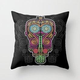 Boho Mask Throw Pillow