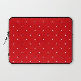 Polka Dot Red Laptop Sleeve
