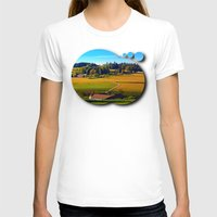 farm T-shirts featuring From farm to farm by Patrick Jobst