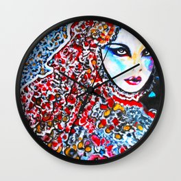 Flowers #society6 #decor #buyart   Featured in www.magcloud.com/browse/issue/1340080 (V8 N2) Wall Clock